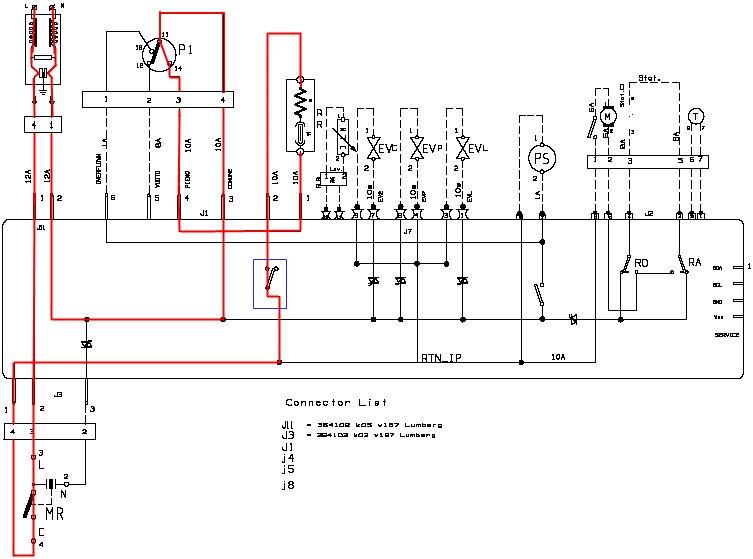 Индезит wiu 61 панель схема
